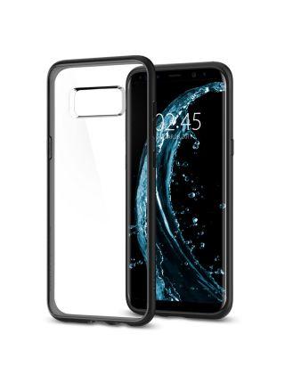 Чехол Ultra Hybrid Galaxy S8, Matte Black