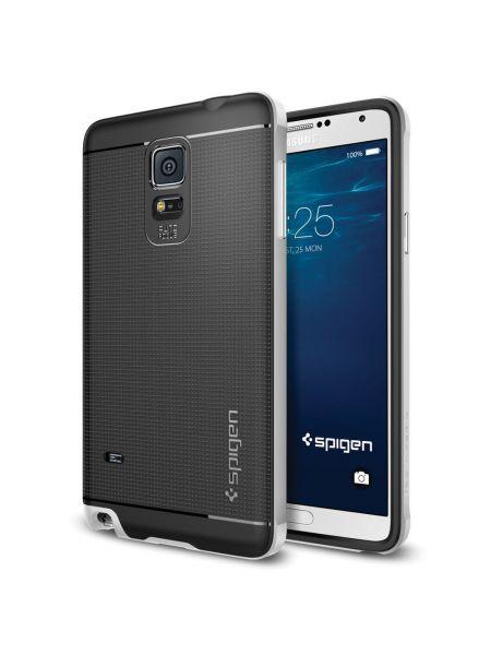 Чехол Spigen Neo Hybrid для Samsung Galaxy Note 4, Satin Silver