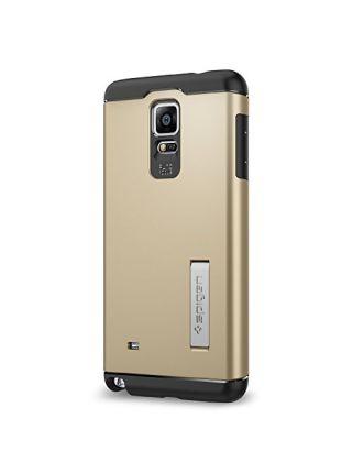 Чехол SGP Slim Armor для Galaxy Note 4, Shampagne Gold
