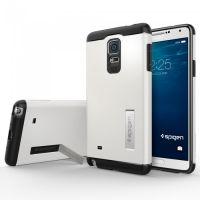 Чехол SGP Slim Armor для Galaxy Note 4, Shimery White