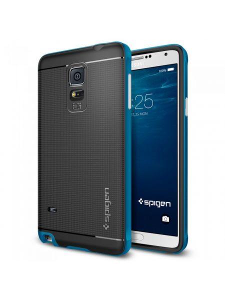 Чехол Spigen Slim Armor для Samsung Galaxy Note 4, Electric Blue